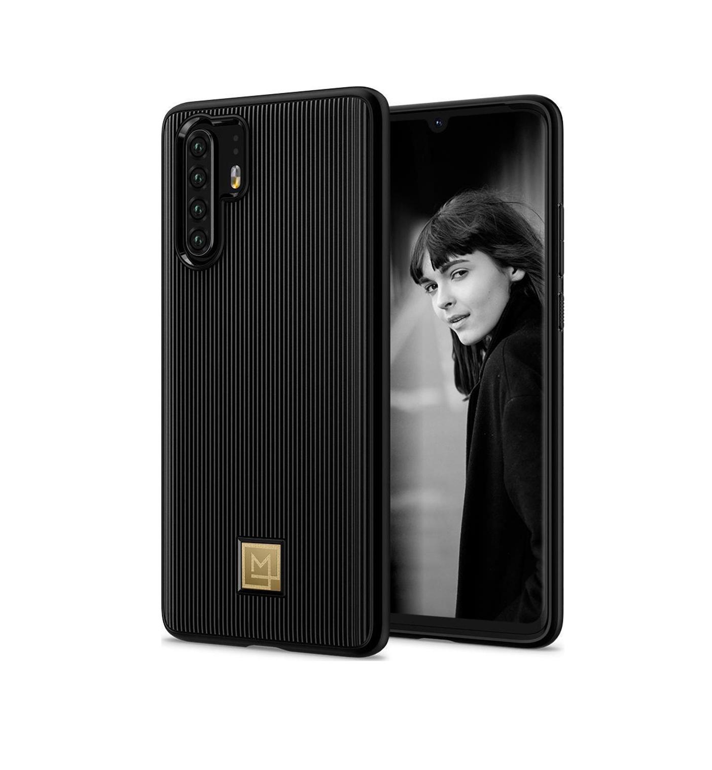 Θήκη Spigen La Manon Classy Back Cover για Huawei P30 Pro Black