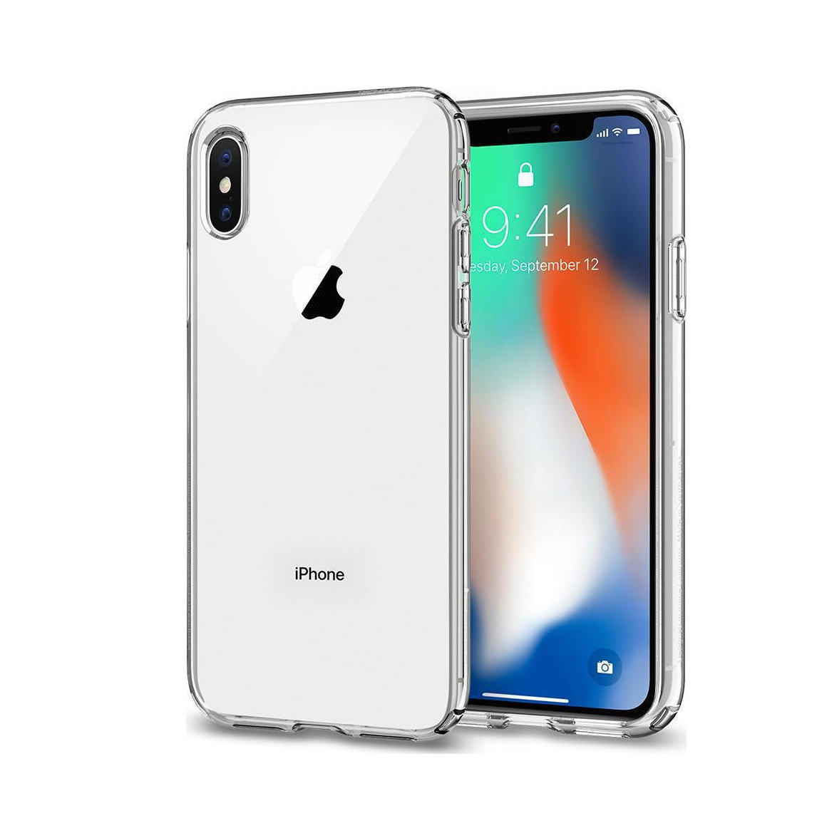 Θήκη Spigen Liquid Crystal για iPhone X/XS Crystal Clear
