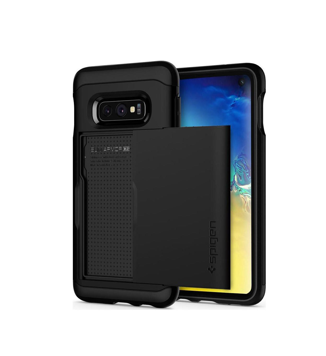 Θήκη Spigen Slim Armor CS για Samsung Galaxy S10E G970 Black