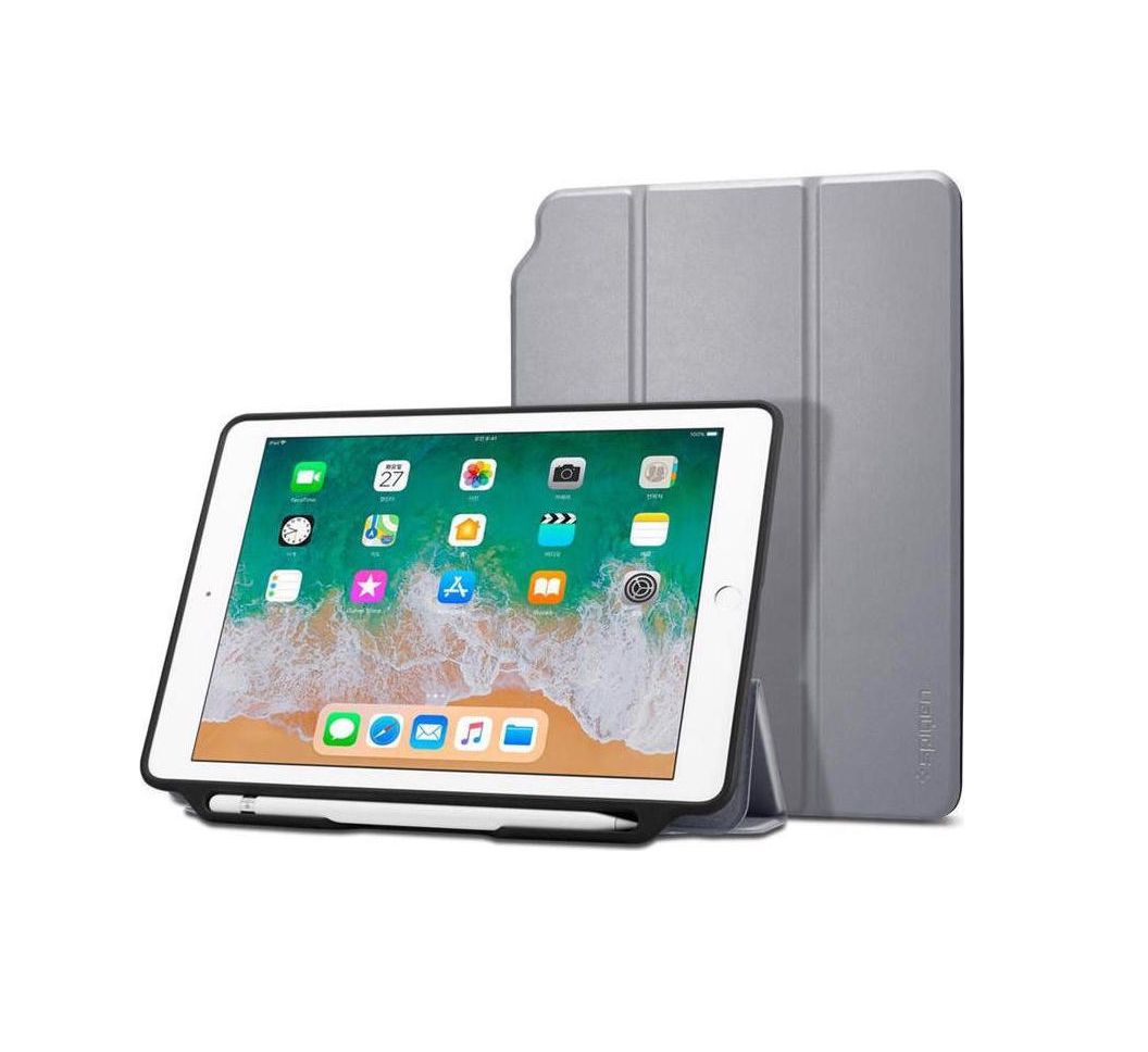 Θήκη Spigen Smart Fold 2 (iPad 9.7 2017/2018) Space Grey