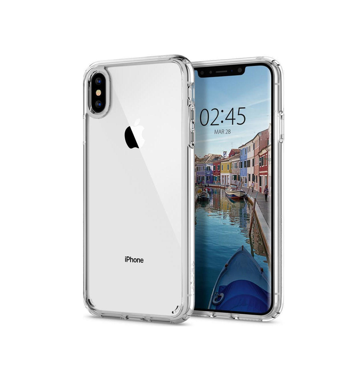 Θήκη Spigen Ultra Hybrid για iPhone XS Max Crystal Clear