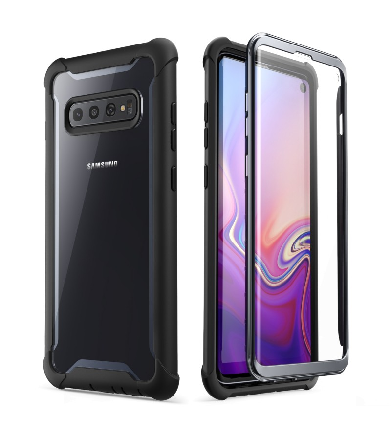 Θήκη Supcase i-Blason with Built-In Screen Protector γιαc Samsung Galaxy 10 G973 Black