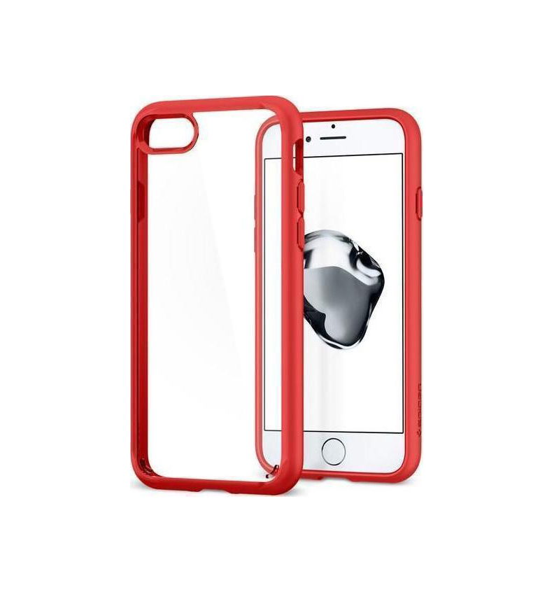 Θήκη Spigen Ultra Hybrid 2 για iPhone 7/8 Red