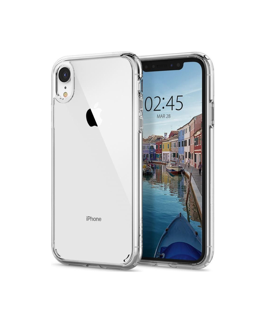 Θήκη Spigen Ultra Hybrid για iPhone XR Crystal Clear