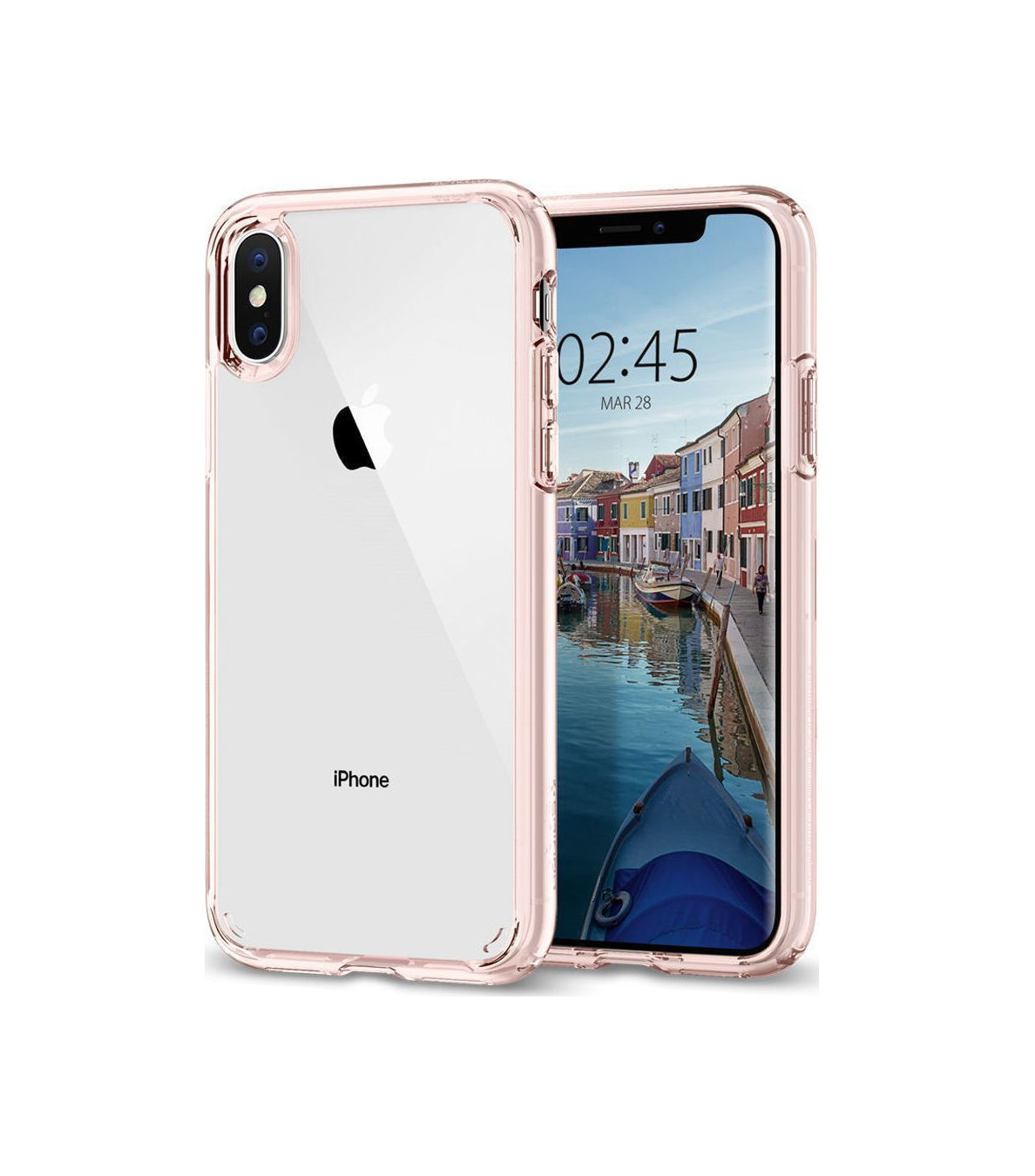 Θήκη Spigen Ultra Hybrid για iPhone X/XS Rose Crystal