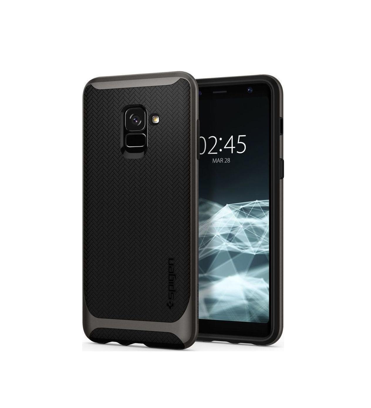 Θήκη Spigen Neo Hybrid για Samsung Galaxy A8 2018 A530 Gunmetal