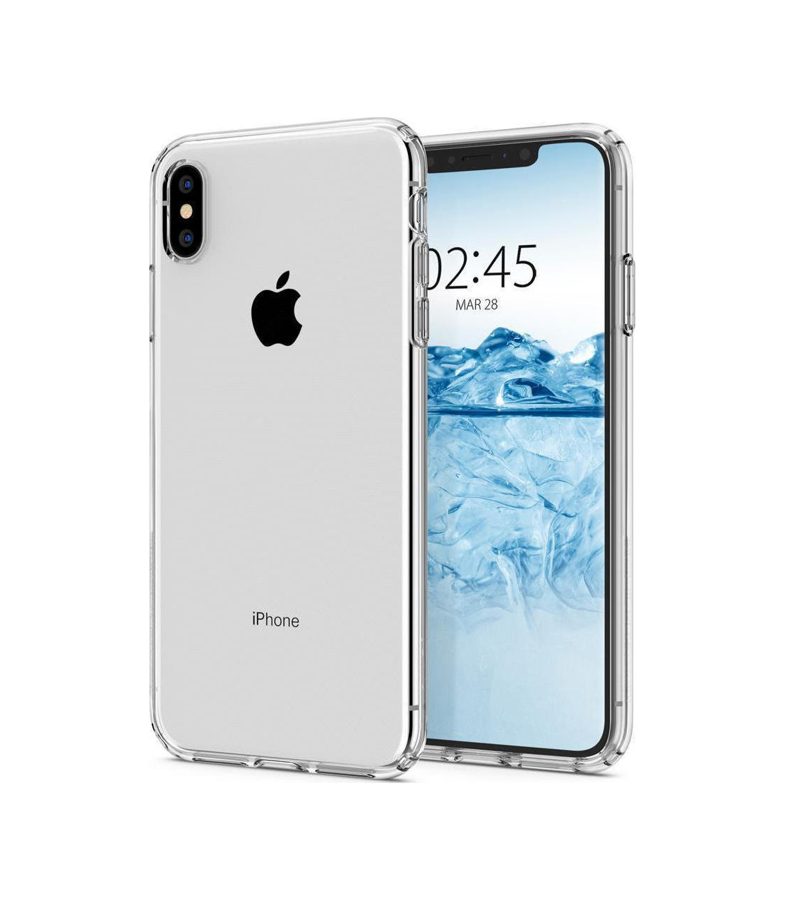 Θήκη Spigen Liquid Crystal για iPhone XS Max Crystal Clear 065CS25122