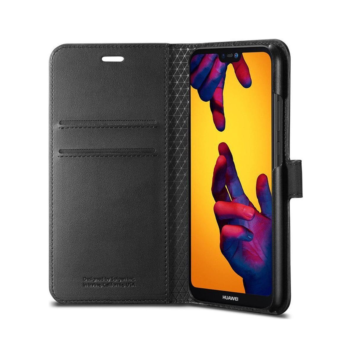 Θήκη Spigen Wallet S για Huawei P20 LIte Black L22CS23078