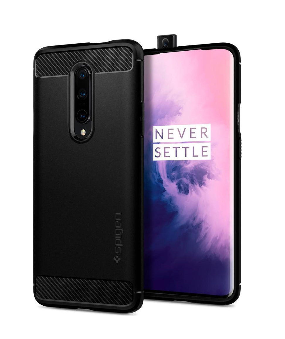 Θήκη Spigen Rugged Armor για OnePlus 7 Pro Matte Black K09CS26390