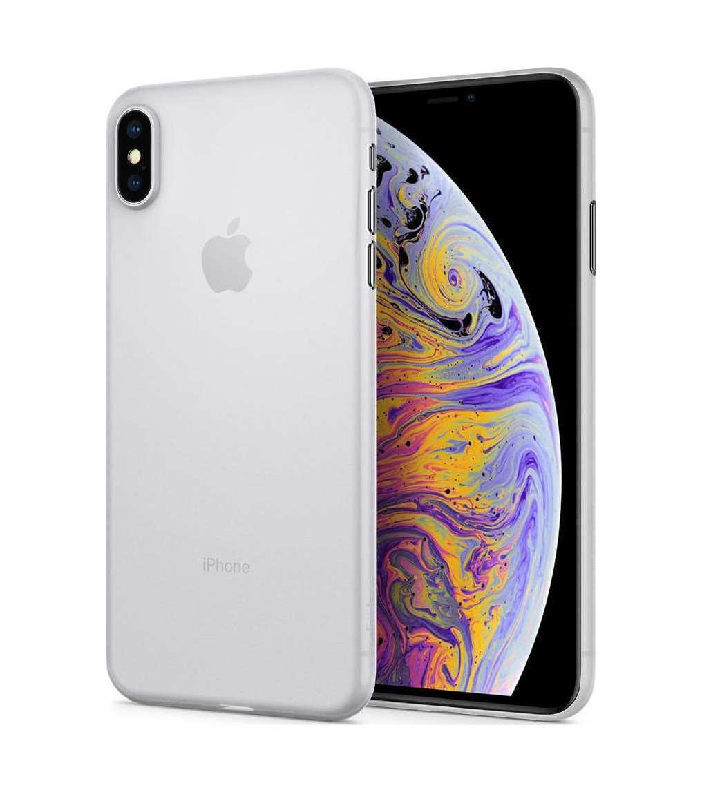 Θήκη Spigen Airskin για iPhone XS Max Soft Clear 065CS24829