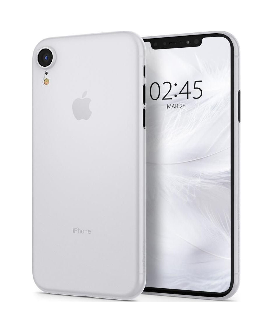 Θήκη Spigen Airskin για iPhone XR Soft Clear 064CS24869