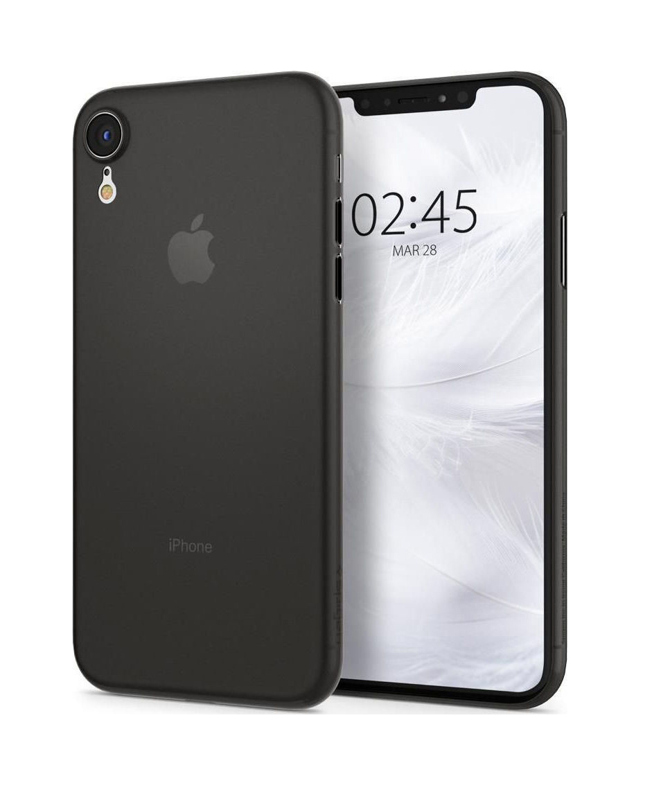 Θήκη Spigen Airskin για iPhone XR Black 064CS24870