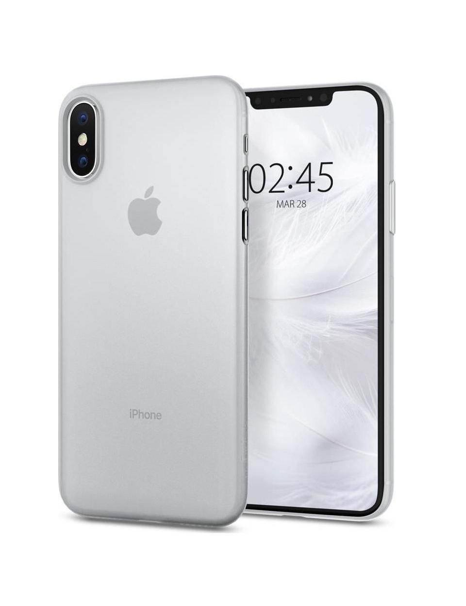 Θήκη Spigen Airskin για iPhone X/XS Soft Clear 063CS24909
