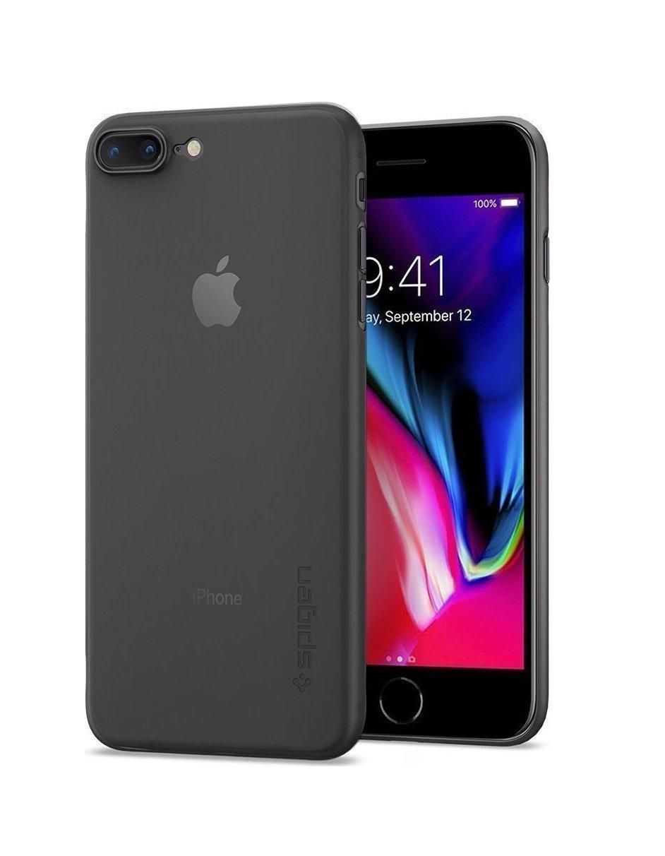 Θήκη Spigen Airskin για iPhone 7/8 Black 054CS22591