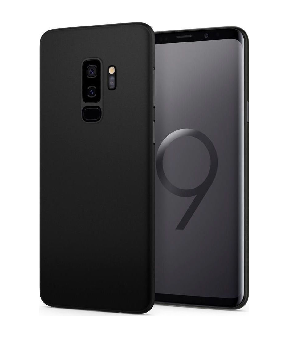 Θήκη Spigen Airskin για Samsung Galaxy S9 Plus G965 Black 593CS22954
