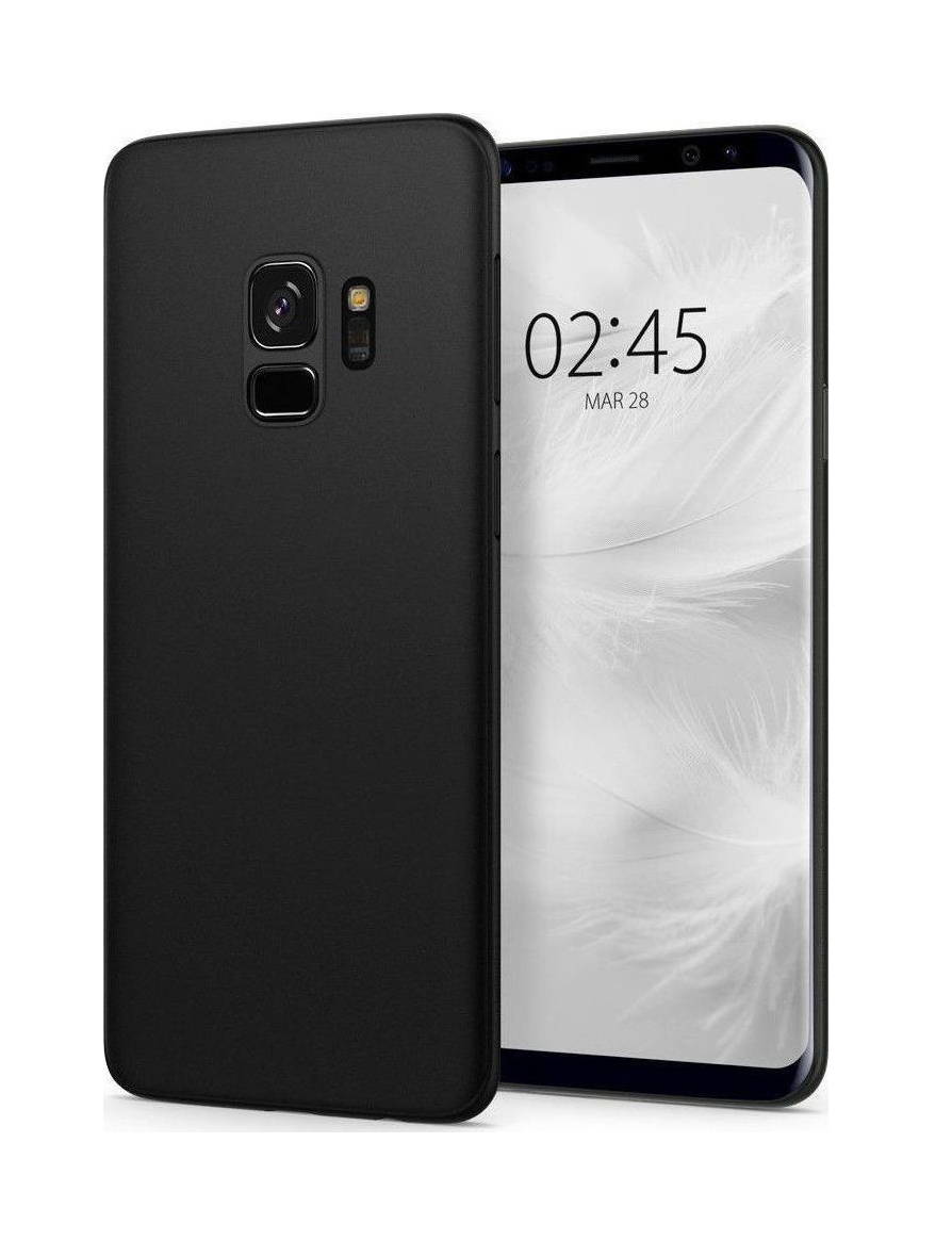 Θήκη Spigen Airskin για Samsung Galaxy S9 G960 Black 592CS22867