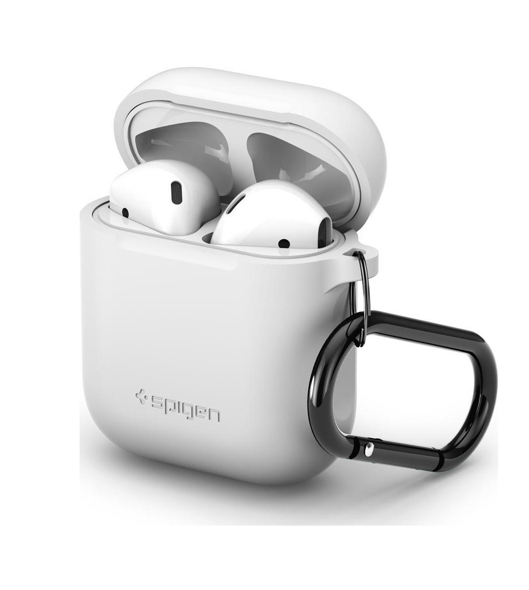 Θήκη Apple AirPods Silicone Case White 066CS24809