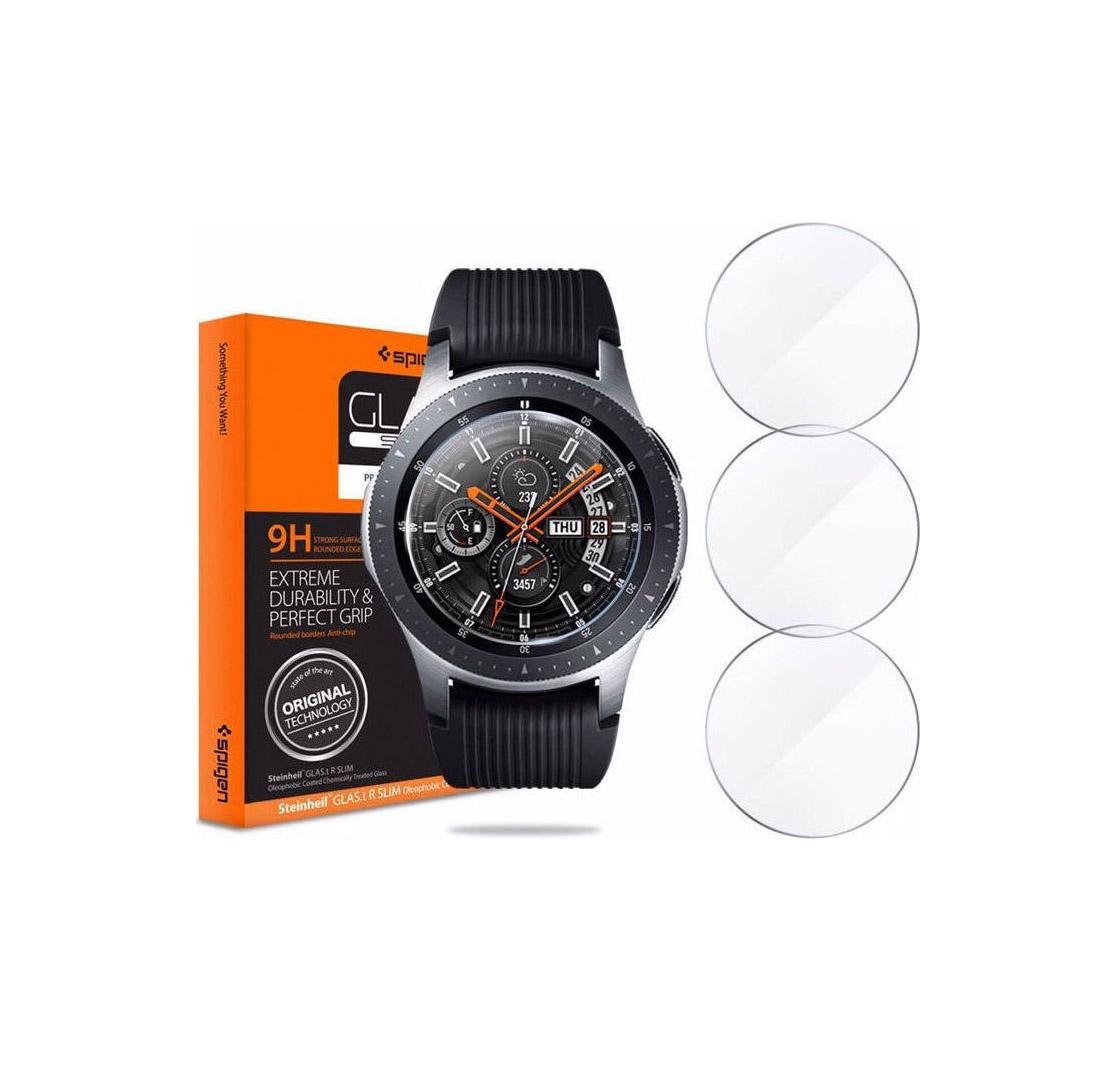 Spigen GLAS.tR 3-Pack Tempered Glass για Samsung Gear S3/Watch 46mm 603GL25595