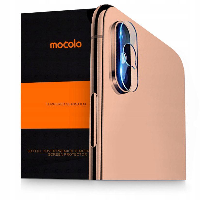 Mocolo TG+ Tempered Glass Camera Lens για iPhone X/XS