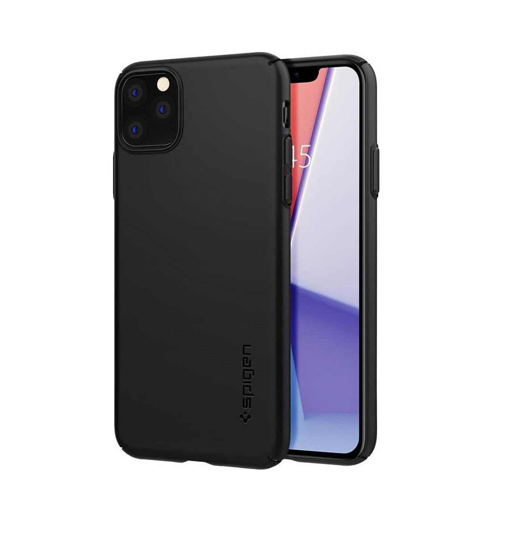 Θήκη Spigen Thin Fit Air για iPhone 11 Pro Max Black ACS00066