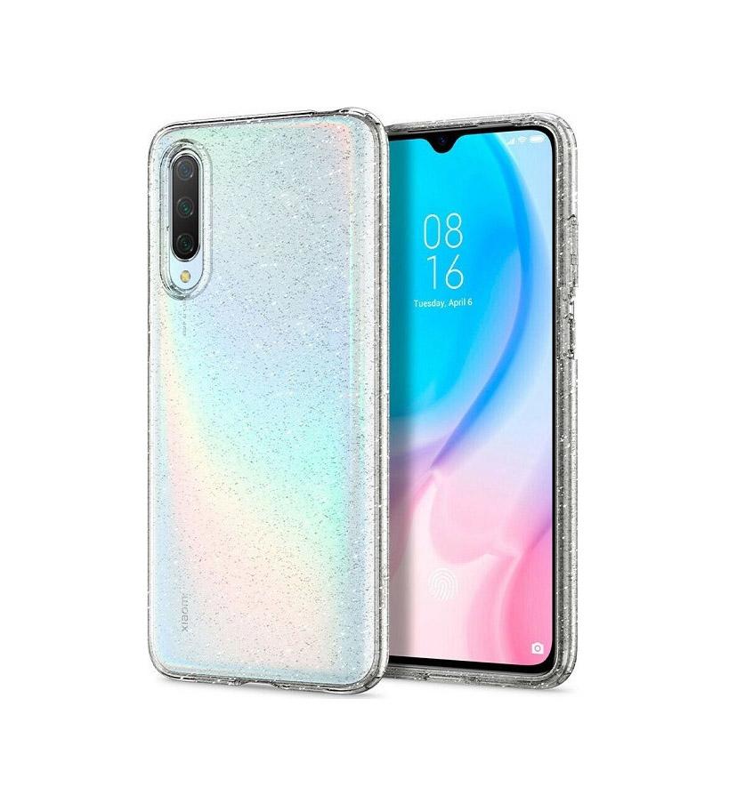 Θήκη Spigen Liquid Crystal για Xiaomi Mi A3 Glitter Crystal Quartz S51CS26399