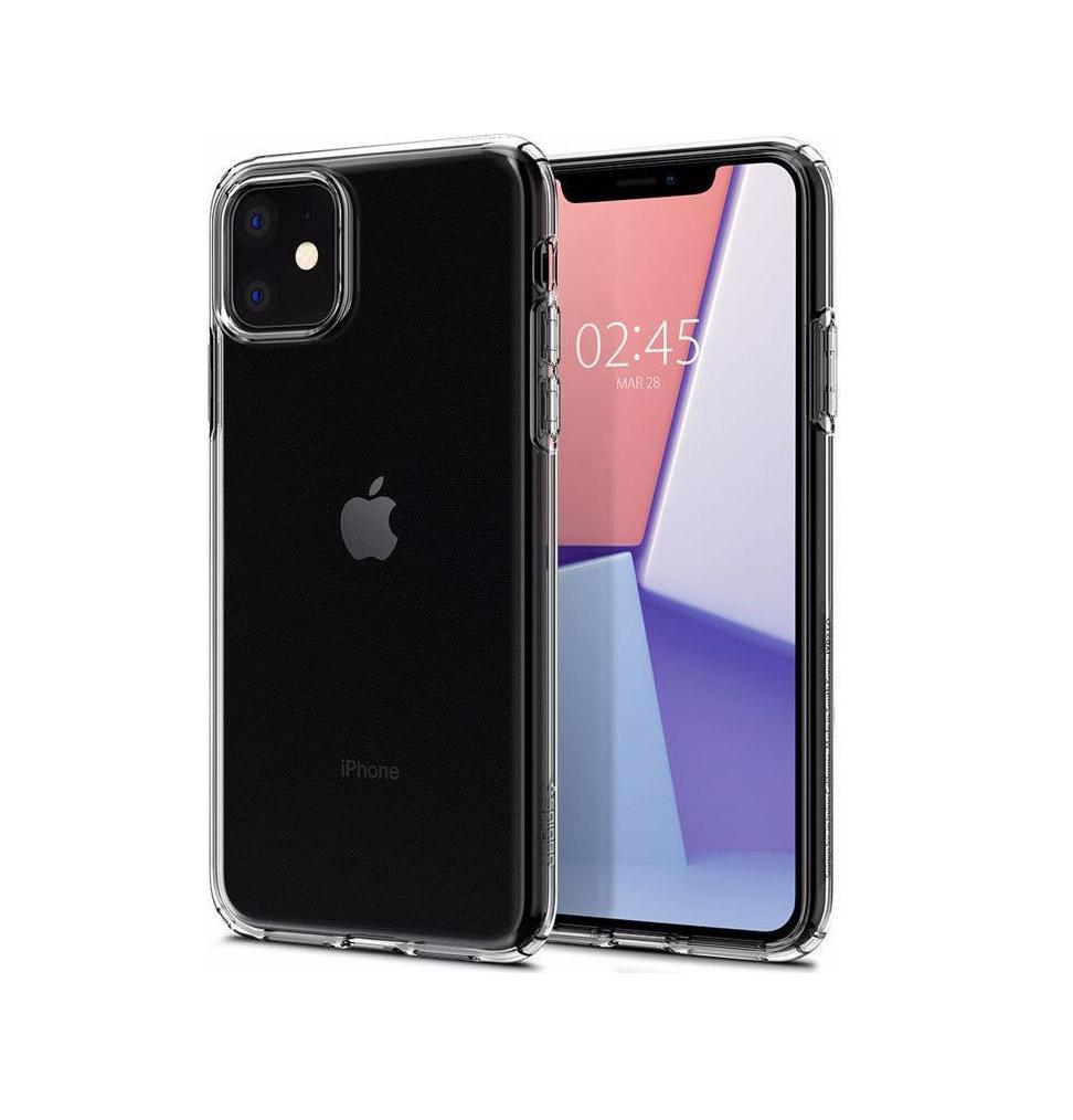 Θήκη Spigen Liquid Crystal για iPhone 11 Crystal Clear 076CS27179