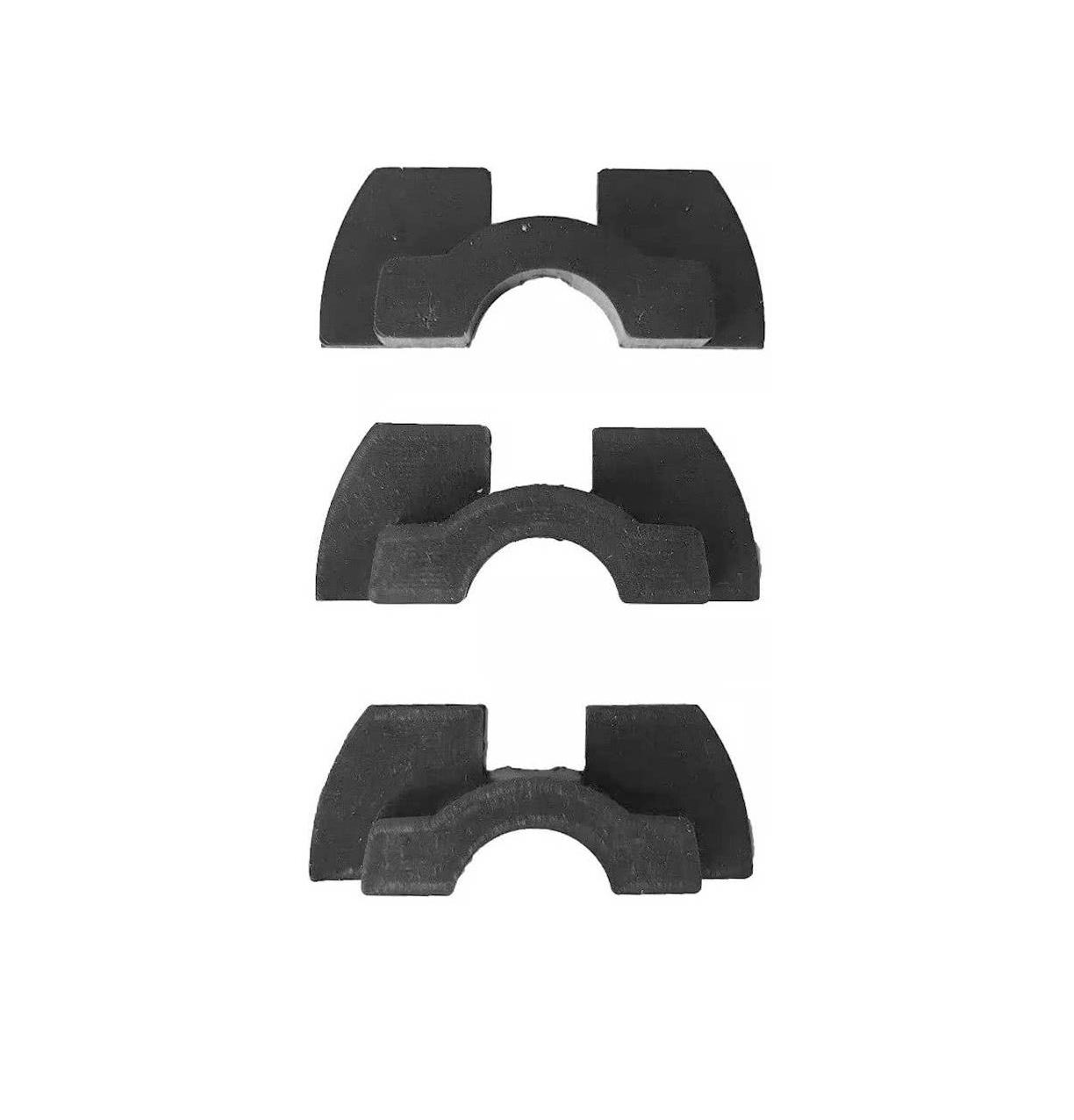 3PAD FDTwelve Επιθέματα Βάσης για Xiaomi Scooter M365 / M365 Pro Black 5906735414233