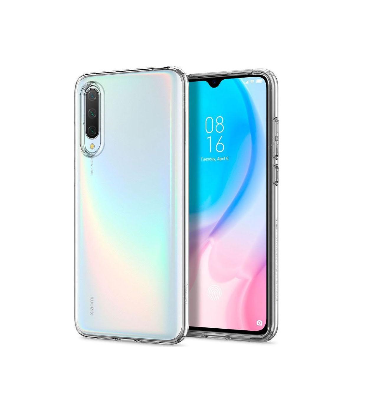 Θήκη Spigen Liquid Crystal για Xiaomi Mi 9 Lite Crystal CLear S52CS26401