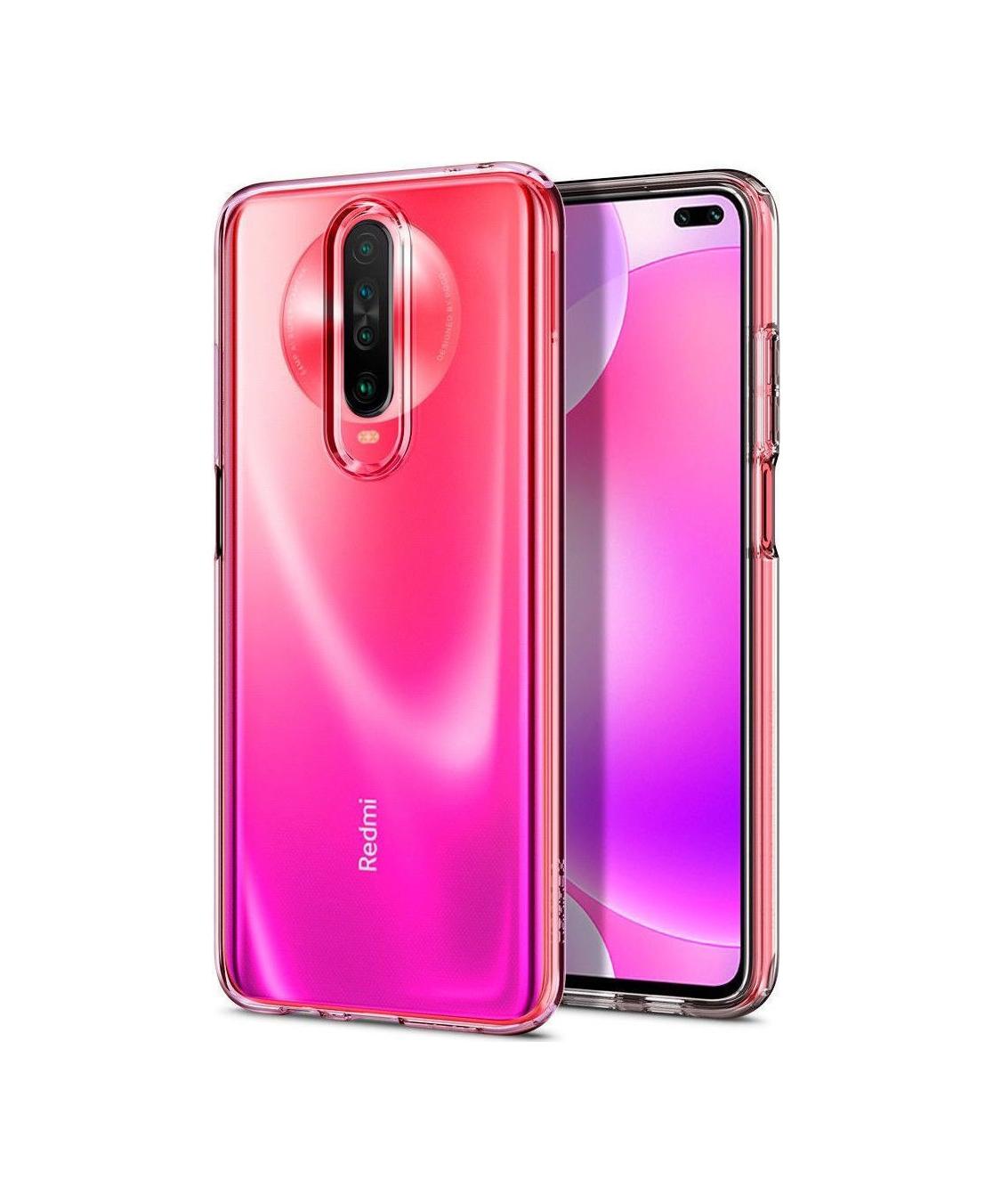 Θήκη Spigen Liquid Crystal για Xiaomi Pocophone X2/Redmi K30 Crystal CLear ACS00698