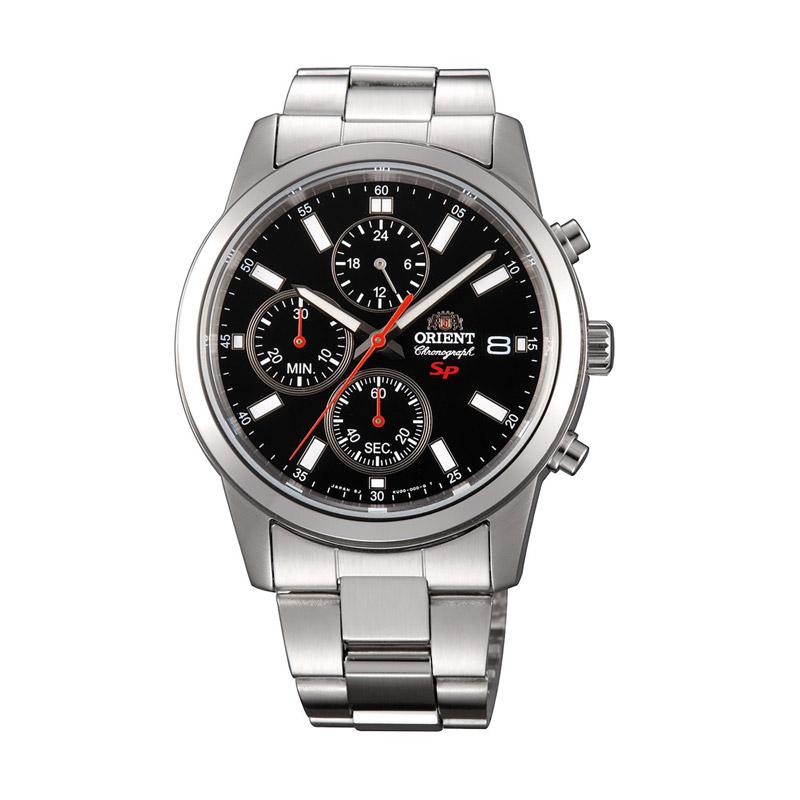 Ανδρικό Ρολόι με Μεταλλικό Μπρασελέ Orient FKU00002B0 - FKU00002B0
