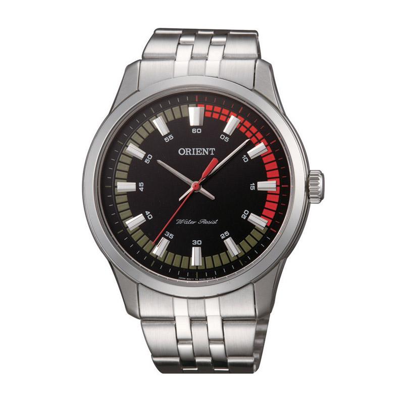 Ανδρικό Ρολόι με Μεταλλικό Μπρασελέ Orient SQC0U004B0 - SQC0U004B0