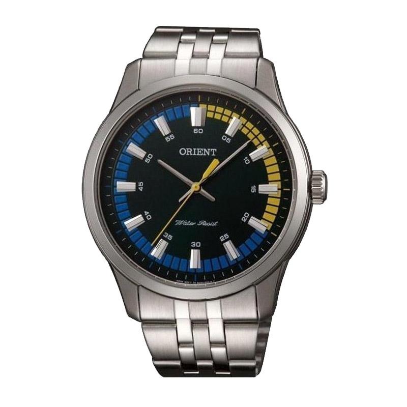Ανδρικό Ρολόι με Μεταλλικό Μπρασελέ Orient SQC0U005F0 - SQC0U005F0