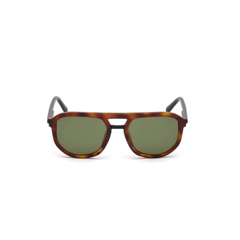 Ανδρικά Γυαλιά Ηλίου με Πλαστικό Σκελετό και Φακούς Χρώματος Πράσινο Dsquared2 DQ029652N54 - DQ029652N54