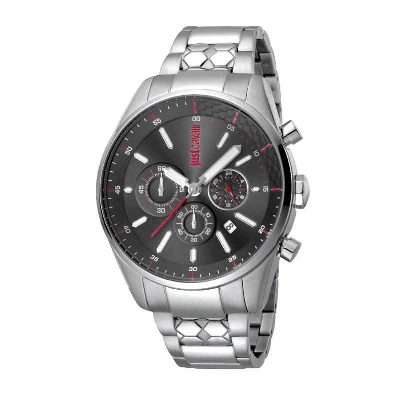 Ανδρικό Ρολόι από Ανοξείδωτο Ατσάλι με Μεταλλικό Μπρασελέ Just Cavalli JC1G053M0065 - JC1G053M0065