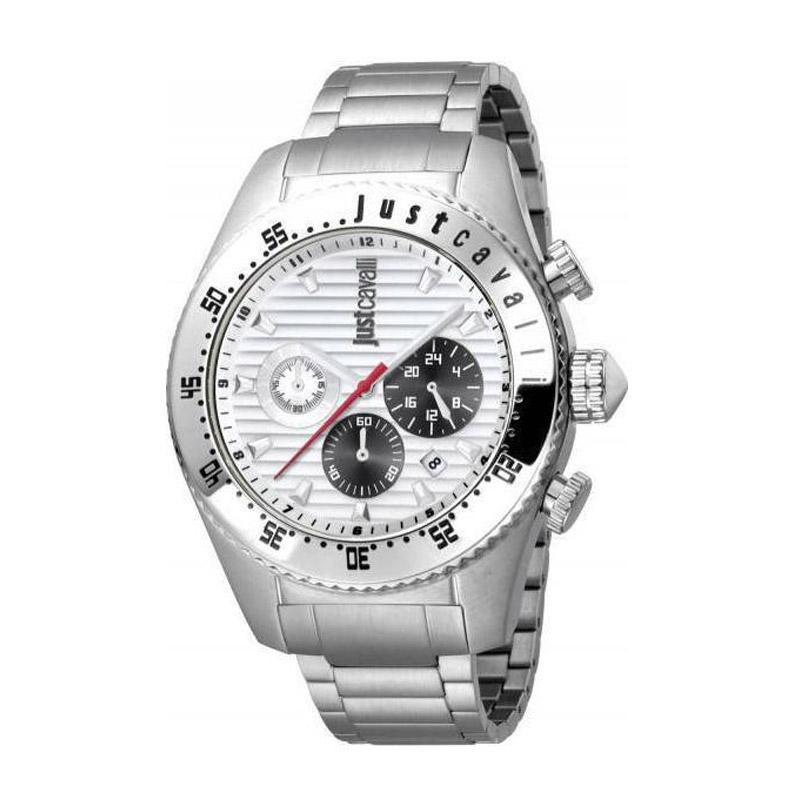 Ανδρικό Ρολόι από Ανοξείδωτο Ατσάλι με Μεταλλικό Μπρασελέ Just Cavalli JC1G040M0055 - JC1G040M0055
