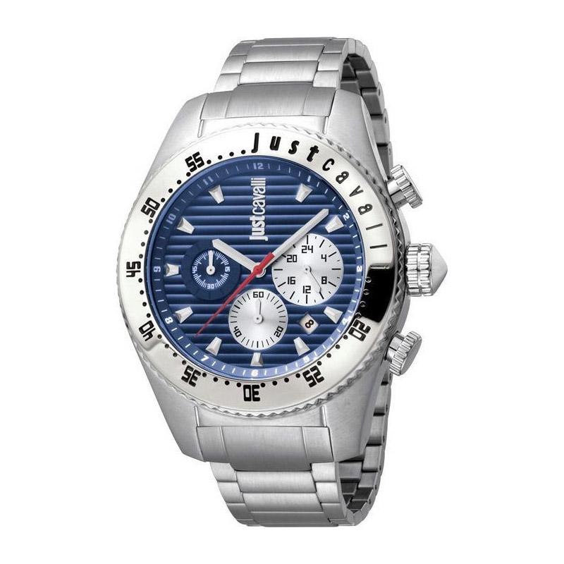 Ανδρικό Ρολόι από Ανοξείδωτο Ατσάλι με Μεταλλικό Μπρασελέ Just Cavalli JC1G040M0075 - JC1G040M0075