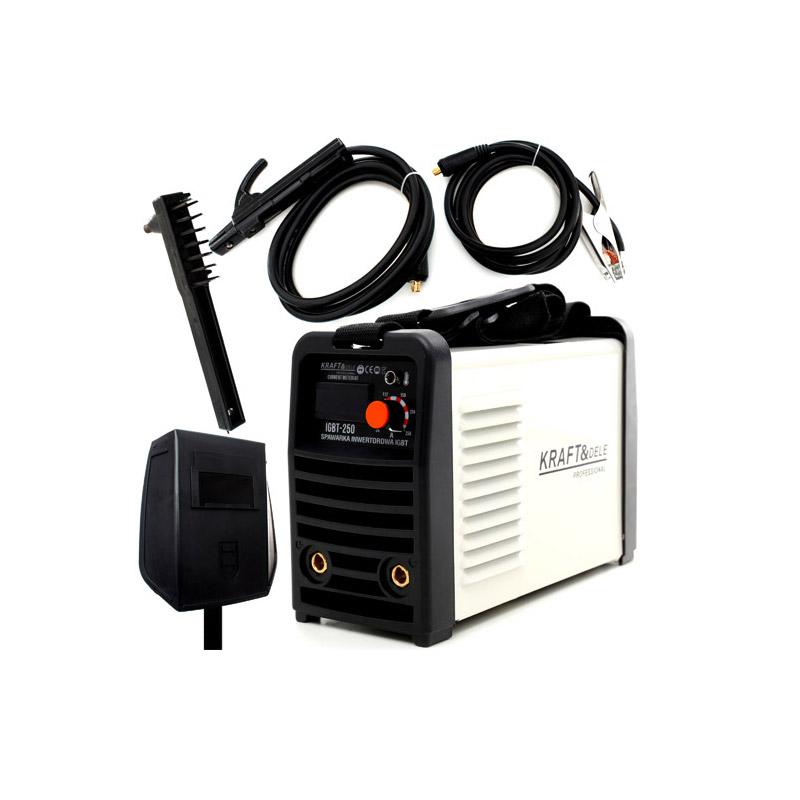 Ηλεκτροκόλληση Inverter 330A LCD MMA 230V Kraft&Dele KD-1843 - KD-1843