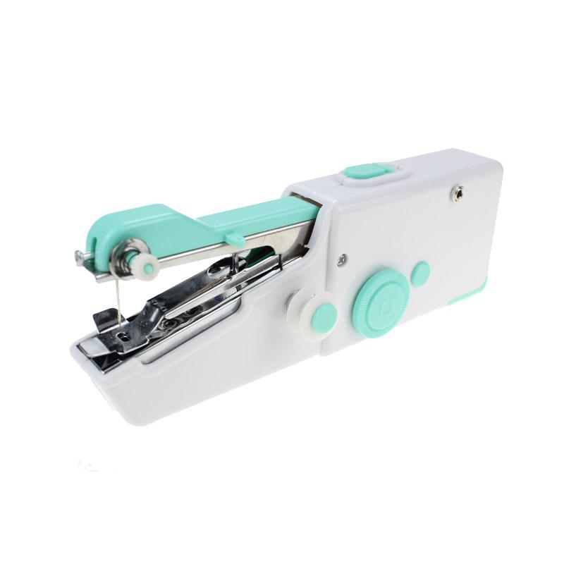 Mini Φορητή Ραπτομηχανή Χειρός με 2 Ανταλλακτικές Βελόνες Χρώματος Μπλε Cenocco CC-9073 - CC-9073-Blue