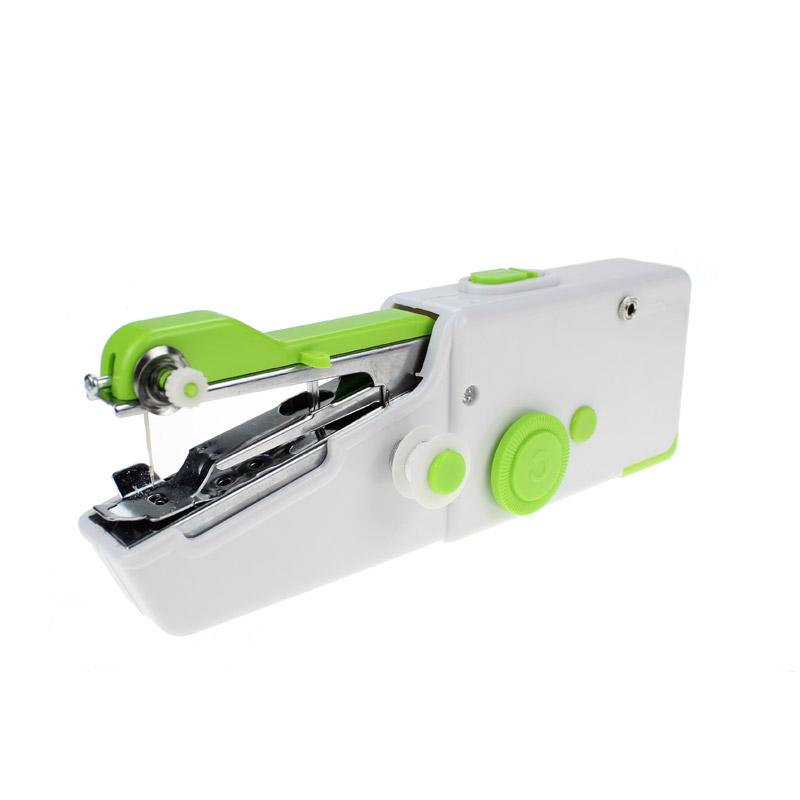 Mini Φορητή Ραπτομηχανή Χειρός με 2 Ανταλλακτικές Βελόνες Χρώματος Πράσινο Cenocco CC-9073 - CC-9073-Green