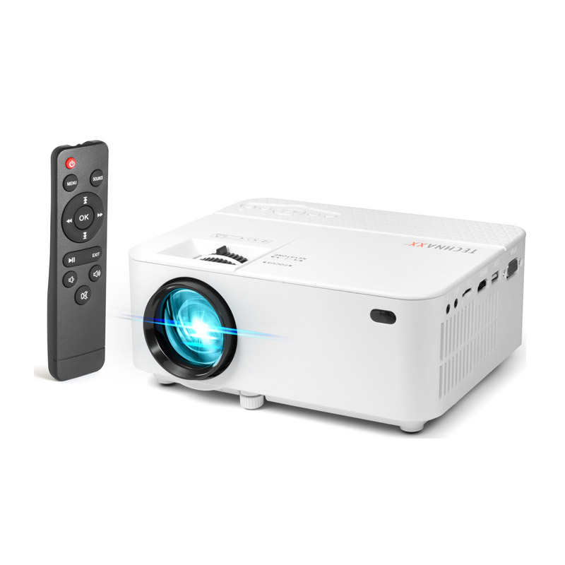 Φορητός Προτζέκτορας LED 1800 ANSI Lumens 800 x 600 2000 : 1 με Τηλεχειριστήριο Technaxx TX-113 - TX-113