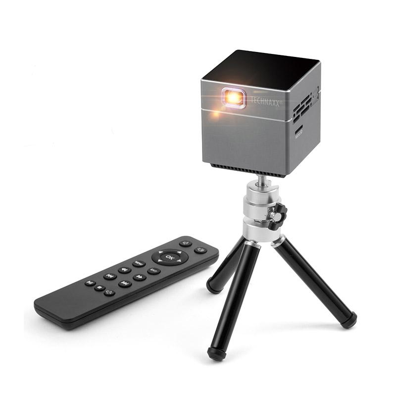 Mini LED Προτζέκτορας με Τηλεχειριστήριο και Τρίποδο Technaxx TX-126 - TX-126