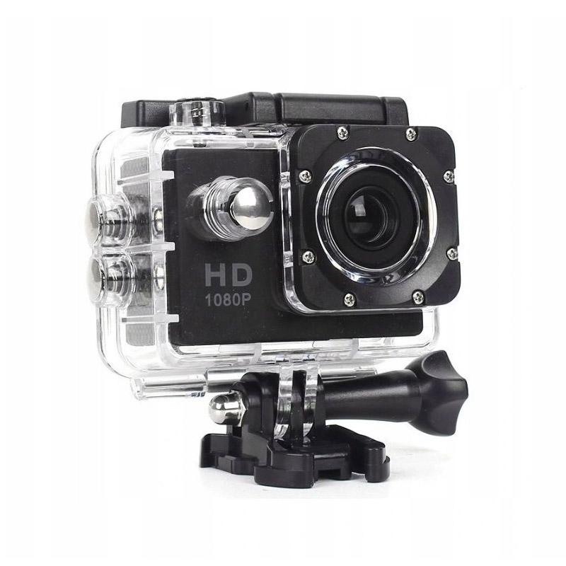 """Αδιάβροχη Action Camera με Οθόνη LCD 2"""" SPM Scamera-Black - Scamera-Black"""
