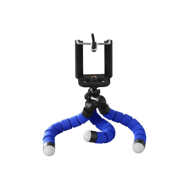 Τρίποδο Χταπόδι με Βάση Στήριξης Κινητού / Κάμερας Χρώματος Μπλε SPM DB7988 - DB7988