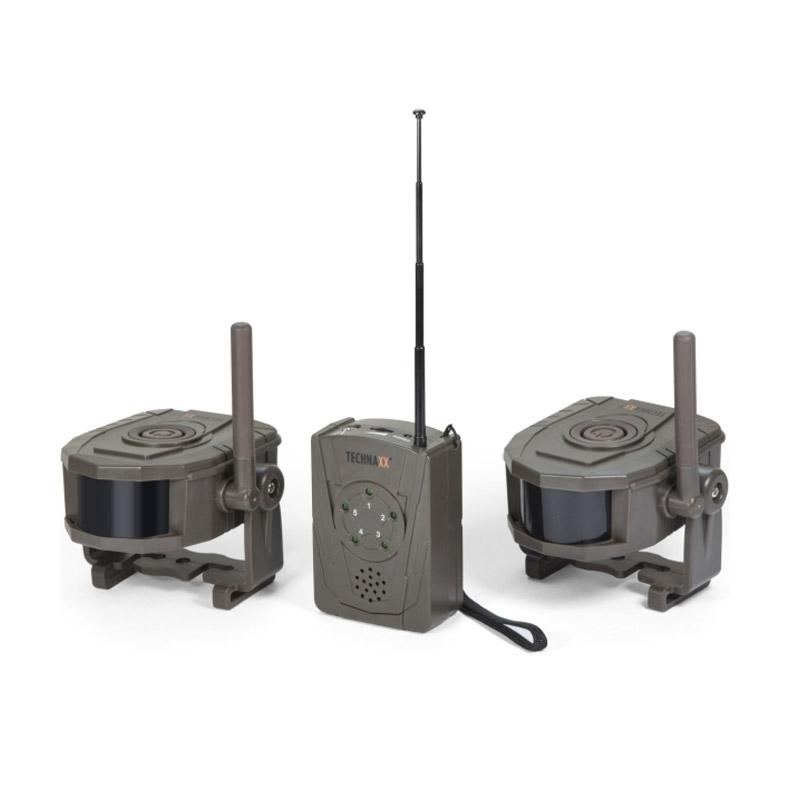 Ασύρματο Σύστημα Συναγερμού με 2 Αισθητήρες Κίνησης Technaxx TX-104 - TX-104
