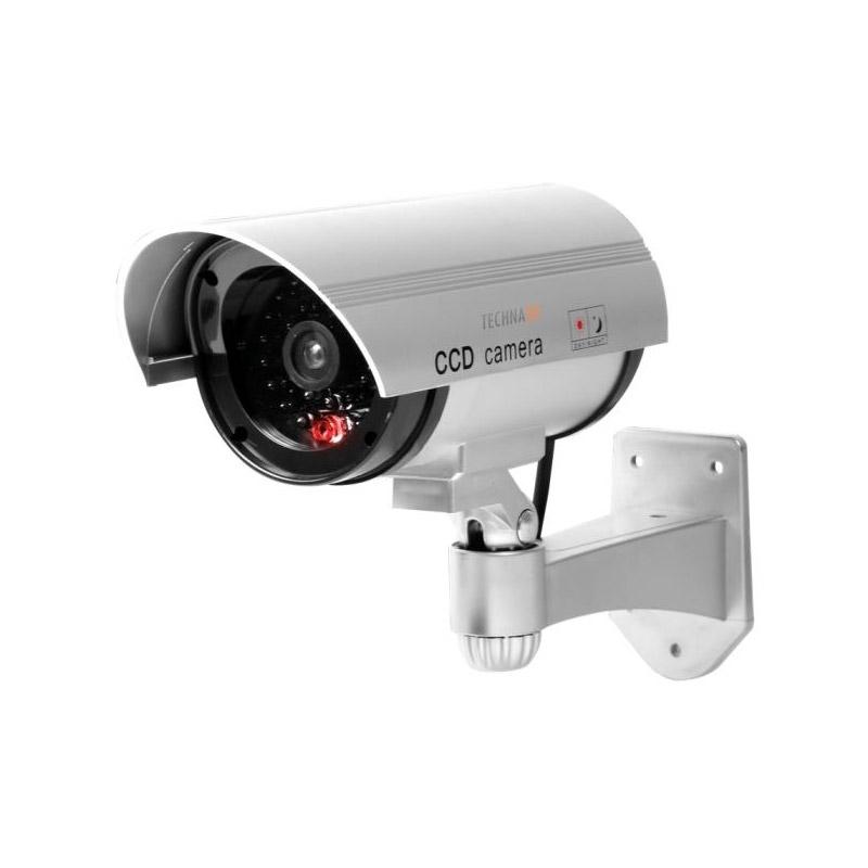 Ψεύτικη Ασύρματη Κάμερα Παρακολούθησης με LED Φως CCD Dummy Security Camera Technaxx TX-18 - TX-18