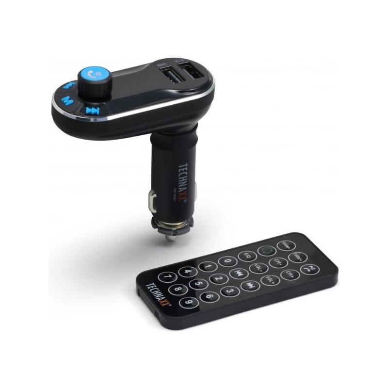 Συσκευή Bluetooth FM MP3 Transmitter με Τηλεχειριστήριο Technaxx FMT600BT - FMT600BT