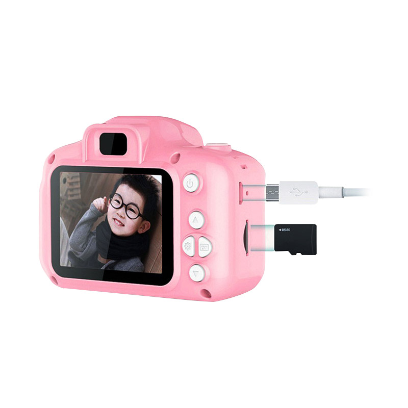 Παιδική Ψηφιακή Φωτογραφική Μηχανή Χρώματος Ροζ SPM 5908222214111-Pink - 5908222214111-Pink