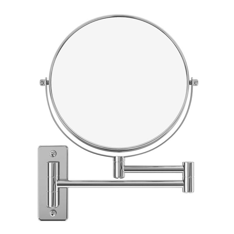 Επιτοίχιος Περιστρεφόμενος Καθρέπτης Μακιγιάζ 10x Διπλής Όψεως Songmics BBM001 - BBM001