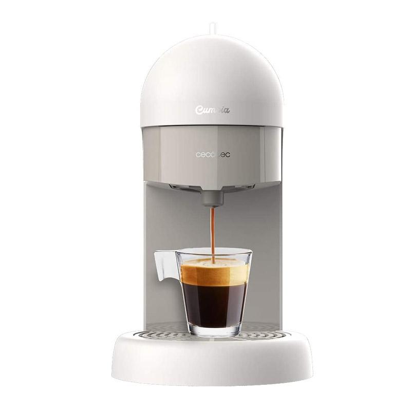 Καφετιέρα Espresso 19 Bar Cumbia Capricciosa Χρώματος Λευκό Cecotec CEC-01595 - CEC-01595