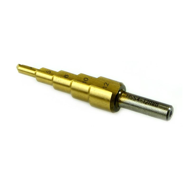 Κωνικό Τρυπάνι με Επίστρωση Τιτανίου HSS 4 - 12 mm MAR-POL M22325 - M22325